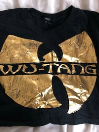 Wu-tang crop top