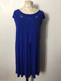 Royal blue dress size medium could fit large  Ontario, 91762
