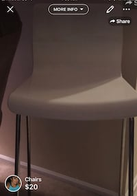 Bar length resin chairs (tall) make an offer I'm moving to a smaller apt Matawan, 07747