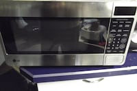 LG Microwave in stainless finish Golden