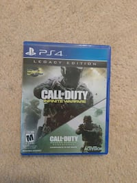 Call of Duty Infinite Warfare PS4 game case Sharonville, 45241