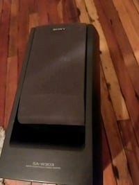 Sony SA-W303 stereo subwoofer and amp