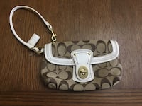 Brown Coach wristlet- new Olney, 20832