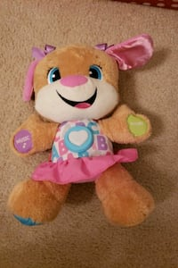 brown and pink bear plush toy Alexandria, 22312