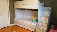 Twin triple bunk bed with drawers and wardrobe Markham, L3P 1J8