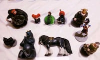Disney/Pixar Brave 10 pc Figurine Set - $25 Toronto, M9B 6C4