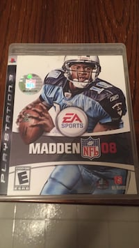 Madden NFL 11 PS3 game case Falls Church, 22043