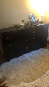 black wooden 3-drawer chest Woodcliff Lake, 07677