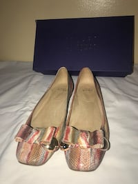 Stuart Weizman Buono square toe flats size 10.5 Washington, 20036