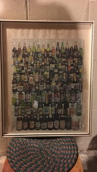 Framed puzzle of bottled beer Point Pleasant, 08742