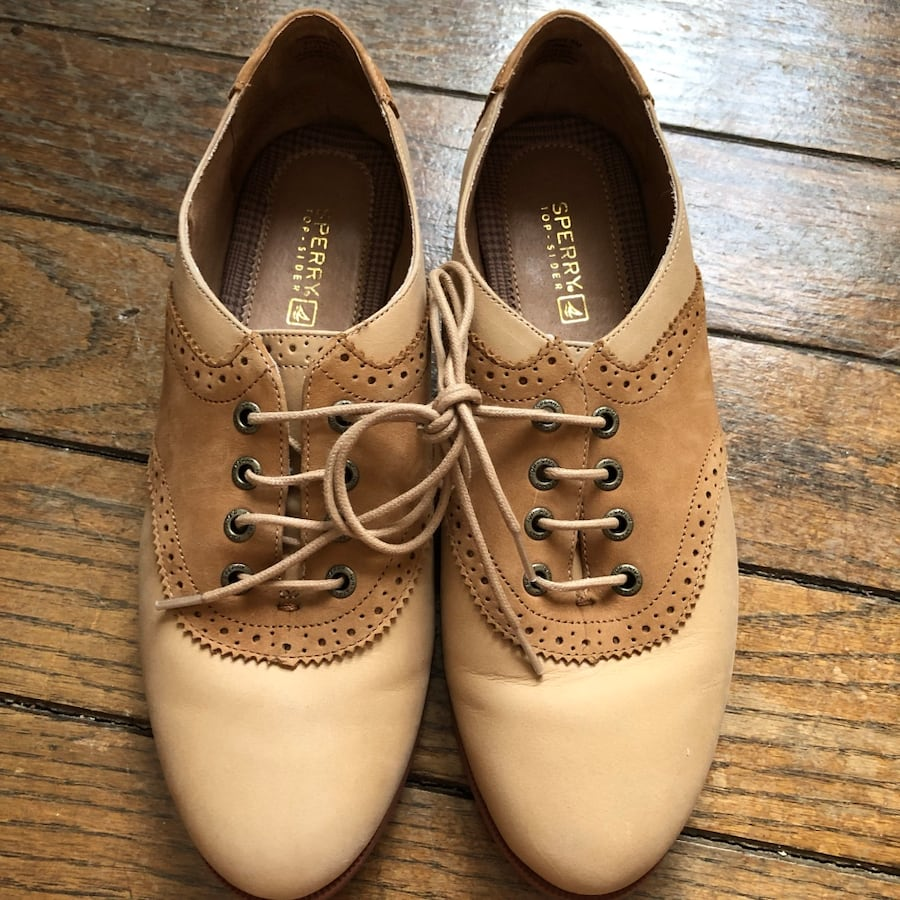 Sperry oxfords women's size 8 m