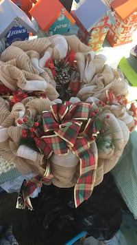 handmade christmas wreath Ocean Isle Beach, 28469
