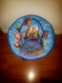 Childrens Plush Toy Story Pappisan Fold out Chair