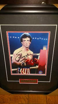 Sylvester Stallone (Rocky) signed & authenticated  Toronto, M1L 2T3