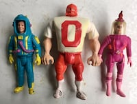 3 Vintage 1989 The Real GHOSTBUSTERS Movable Figures LOT Toronto, M6N 2H4
