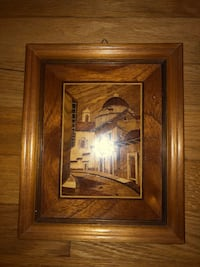 Small wood work paintings (3) - purchased for $100 best offer for all three Vienna, 22180