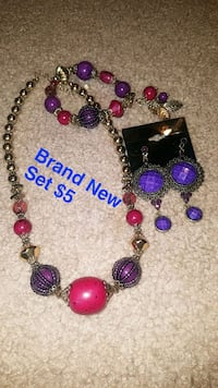 beaded purple and gold-colored necklace Salem, 97305