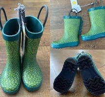 NWT toddler size 5 rain boots