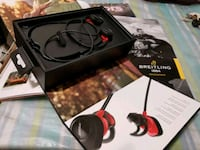 black and red corded headphones Dallas, 75235