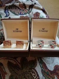 3 cufflinks in low price,$15,or$6each,