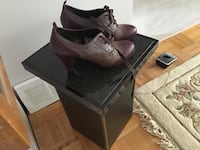 Pair of brown and grey leather shoes, size 8 1/2 _ 9 Laval, H7W 4L3