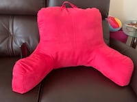 backrest pillow with arm & pocket