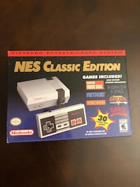 **RARE** Brand New Nintendo NES Classic US version Washington, 20002