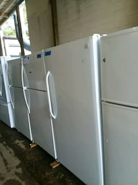 Top and bottom refrigerator brand new scratch and  Baltimore, 21223