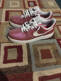 Pink and White Nike Air Force 1s (Size 13) Davenport, 52806