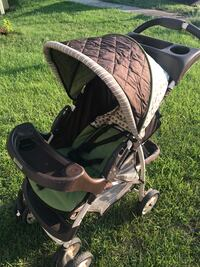 Baby's black and gray stroller Abingdon, 21009