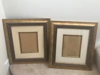 Two brown wooden photo frames Sterling, 20165