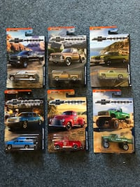 1:64 Matchbox 100th anniversary truck collection