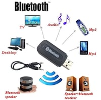 Auxiliary Bluetooth music receiver