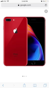 Product red iPhone 8 Plus red Lexington, 27292