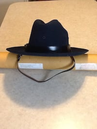 Real Antique size 7 Pa. State Trooper dark blue winter hat Dover, 17315
