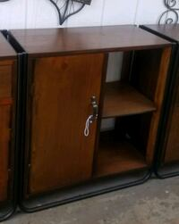 brown wooden cabinet with mirror Los Angeles, 91352