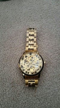 Fake gold skeleton watch Richmond Hill, L4C 0T6