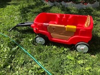 Red wagon for 2 kids  Pickering, L1V 6X3