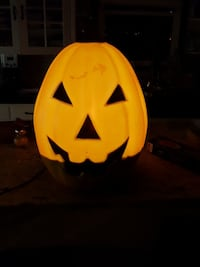 21in light up pumpkin