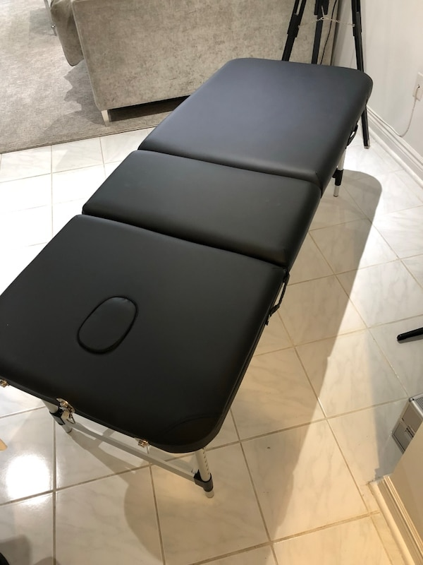 Folding Massage Table with Accessories and Travel Bag