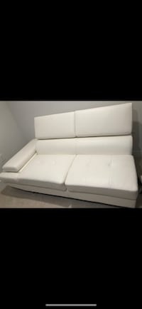 White leather 2-seat sofa Potomac, 20854