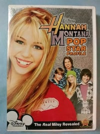 Hannah Montana Pop Star Profile dvd Glen Burnie