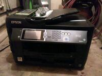 black Epson multifunction printer