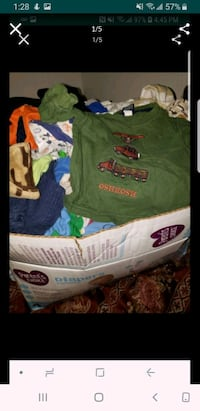Boys 3-6months  mixed clothing