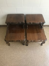 two brown wooden side tables Providence, 02904