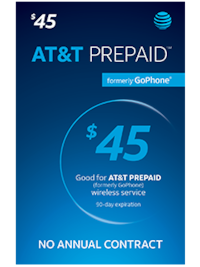 Activated 45$ at&t card New Smyrna Beach