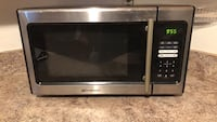 black and gray Emerson microwave oven Minot, 58703