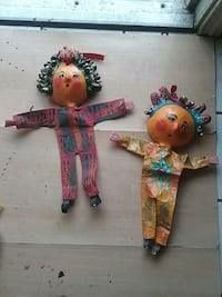 FOLK ART DOLL WALL HANGINGS El Sobrante