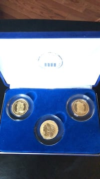 National Collectors Mint Gold Plated Coins Centreville, 20120