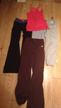 three sweatpants and pink top Halifax, B3N 1A4
